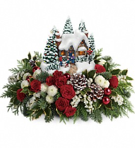 Thomas Kinkade's Country Christmas Homecoming in Bellmore NY, Petite Florist