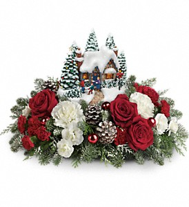 Thomas Kinkade's Home Sweet Holidays in Traverse City MI, Teboe Florist