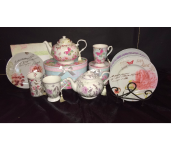 Assorted Tea Sets and Plates in Conway AR, Conways Classic Touch