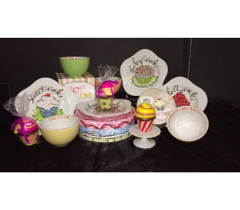 Rosanna Ice Cream Bowls and Cupcake Plates in Conway AR, Conways Classic Touch
