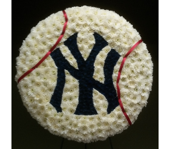 NY YANKEES BASEBALL in Woodbridge NJ, Floral Expressions