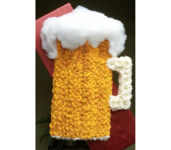 BEER MUG TRIBUTE in Woodbridge NJ, Floral Expressions