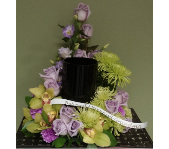 CREMATION URN ARRANGEMENT in Woodbridge NJ, Floral Expressions