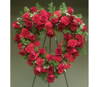 OPEN HEART RED in Woodbridge NJ, Floral Expressions