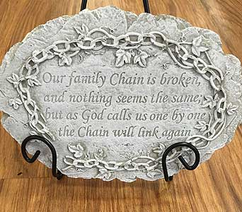 Small Family Chain Stone in Louisville KY, Berry's Flowers, Inc.