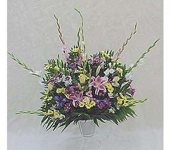 Pedestal Basket - Assorted in Huntington WV, Spurlock's Flowers & Greenhouses, Inc.