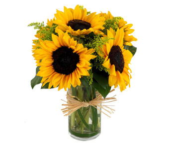 Summer Sunflower Bouquet in Southfield MI, Thrifty Florist