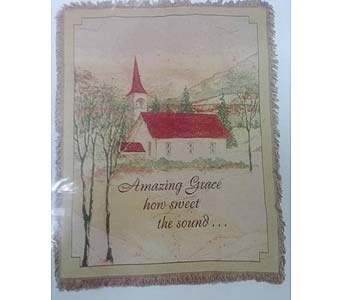 Amazing Grace Throw in Bellville OH, Bellville Flowers & Gifts