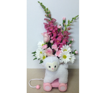 Keepsake Precious Little Lamb in Wyoming MI, Wyoming Stuyvesant Floral