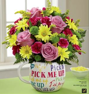 Pick-me-up Mug - FTD in Fond Du Lac WI, Haentze Floral Co