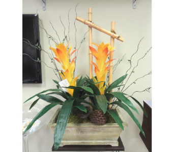 Artistic Faux Bromeliads in Tampa FL, Buds, Blooms & Beyond