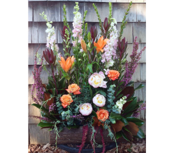 Rustic Remembrance Basket   in Guilford CT, Guilford White House Florist