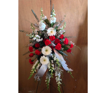 Bleeding Love Spray  in Guilford CT, Guilford White House Florist