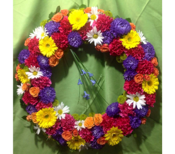 Joyful Memories Wreath in Guilford CT, Guilford White House Florist