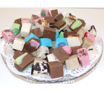 Fudge Plate - Mixed Flavours in Timmins ON, Timmins Flower Shop Inc.