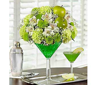 Apple Martini in Ft. Lauderdale FL, Jim Threlkel Florist