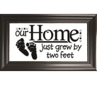Our Home Just Grew By Two Feet in Isanti MN, Elaine's Flowers & Gifts