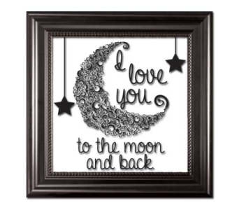 I Love You To The Moon And Back in Isanti MN, Elaine's Flowers & Gifts