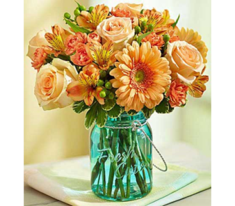 Perfectly Peach in Bradenton FL, Ms. Scarlett's Flowers & Gifts