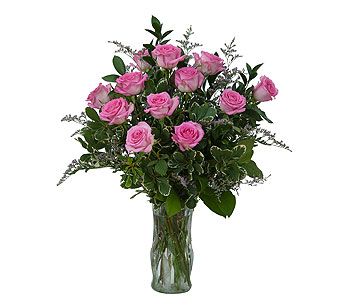 Pink Rose Perfection in Kokomo IN, Bowden Flowers & Gifts