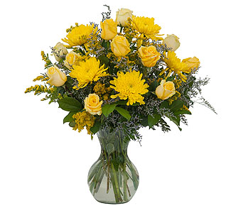 Roses and Sunshine in Helena MT, Knox Flowers & Gifts, LLC