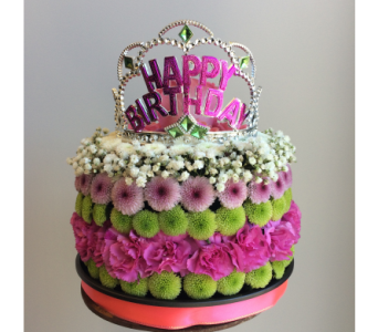 Birthday Princess Wishes in Victoria BC, Fine Floral Designs