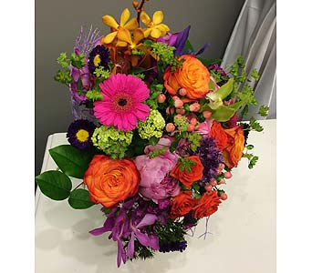 Vibrant Beauty CUT BOUQUET    in Victoria BC, Fine Floral Designs