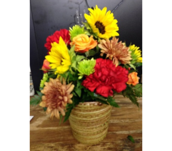 Colors of Fall in Grand Prairie TX, Deb's Flowers, Baskets & Stuff