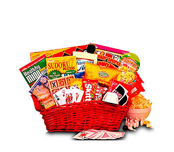 Fun & Games Gift Basket