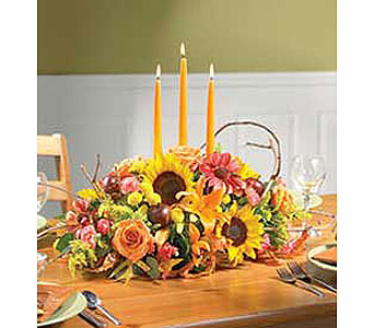 Autumn Gala Centerpiece