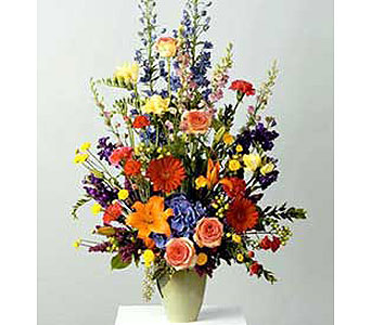 Multicolored Vase Arrangement
