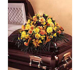 Fall Casket Spray