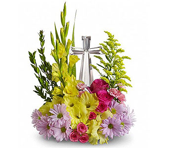 Crystal Cross Bouquet DX