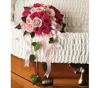 Rose Reflection (casket insert)
