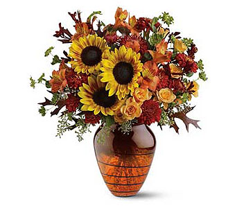 Amber Glow Bouquet