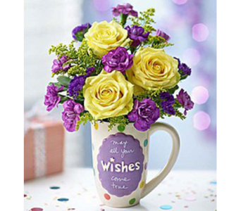 MUGABLE- BEST WISHES in Yelm WA, Yelm Floral