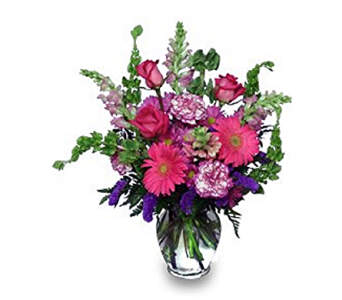Enchanted Pinks in Timmins ON, Timmins Flower Shop Inc.