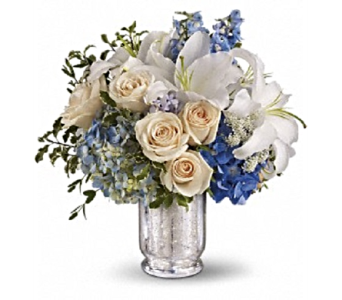 Seaside Centerpiece  in Smyrna GA, Floral Creations Florist