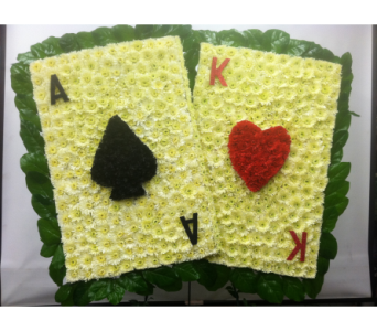 Playing Cards Tribute in Port Chester NY, Port Chester Florist