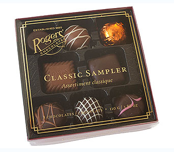 Rogers' Chocolates Classic Sampler in Timmins ON, Timmins Flower Shop Inc.