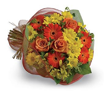 Fall Mixture of Cut Flowers in Timmins ON, Timmins Flower Shop Inc.