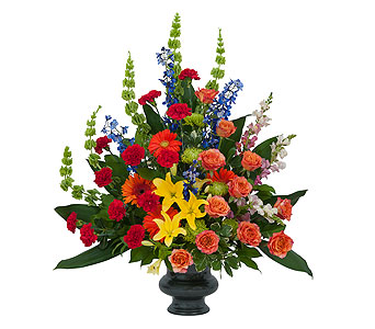 Treasured Celebration Urn in Spartanburg SC, A-Arrangement Florist
