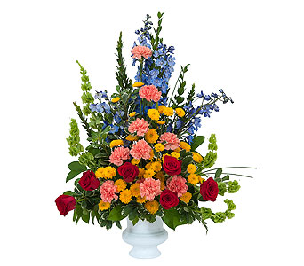 Celebration Tribute in Mount Morris MI, June's Floral Company & Fruit Bouquets