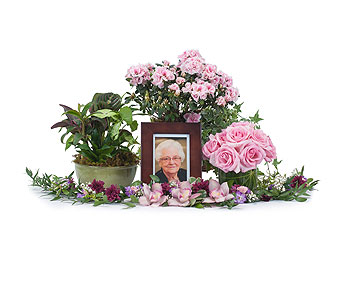 Lovely Lady Tribute in Fort Worth TX, TCU Florist