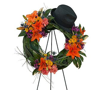 The Good Times Wreath in Fort Worth TX, TCU Florist