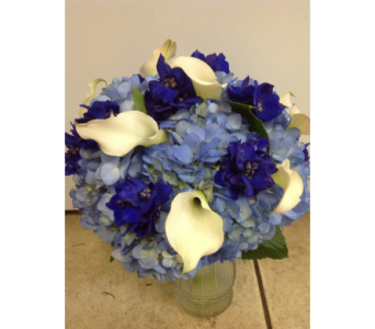 Hydrangea and Calla Lily in Kissimmee FL, Golden Carriage Florist