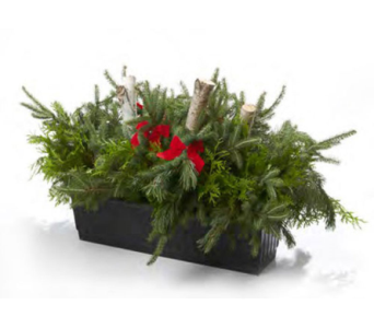 Christmas Urn in Orleans ON, Crown Floral Boutique