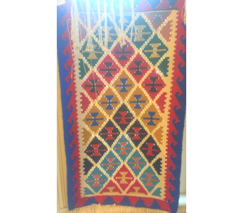 Persian Kilim Rug  in Santa Cruz CA, Shay's Flowers