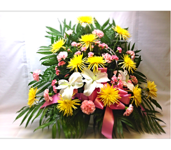 Filer's In Remebrance Basket in Cleveland OH, Filer's Florist Greater Cleveland Flower Co.