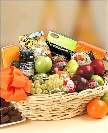 The Sophisticated Gourmet Basket in Port Chester NY, Port Chester Florist